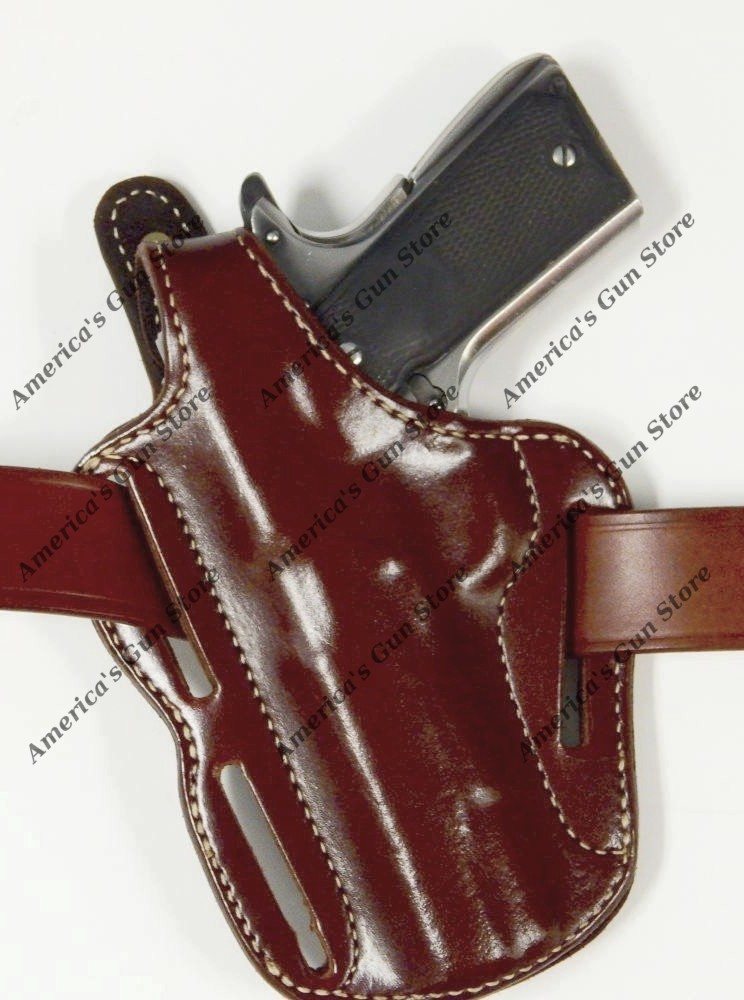 Triple K #570 – Woodsman Pancake Holster Suede Lined for Gun Group