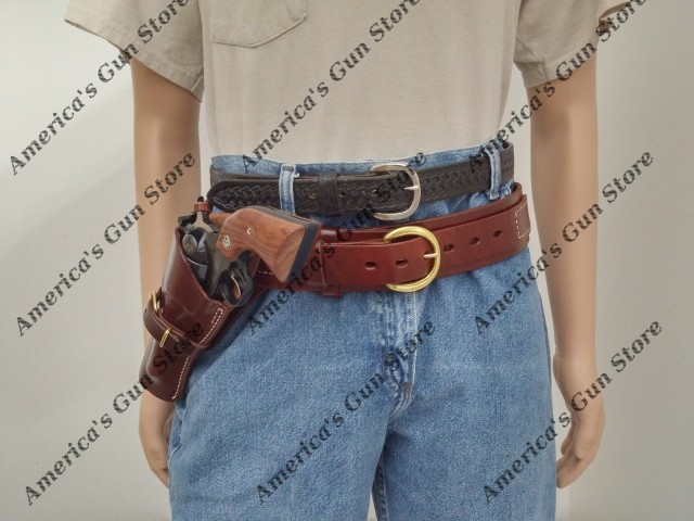 Triple K #740 & 115 – Deluxe Pistol Cartridge Belt and