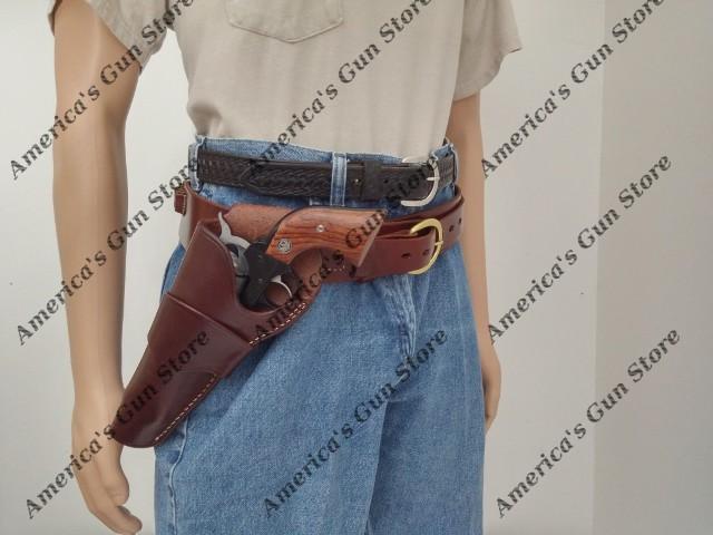 Triple K #740 & 900 – Deluxe Pistol Cartridge Belt and