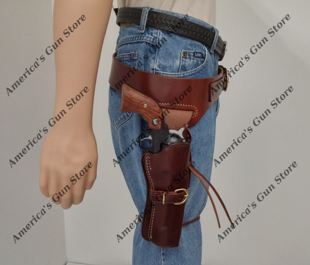 Cheyenne Holster and Wyoming Western Drop Belt | America's