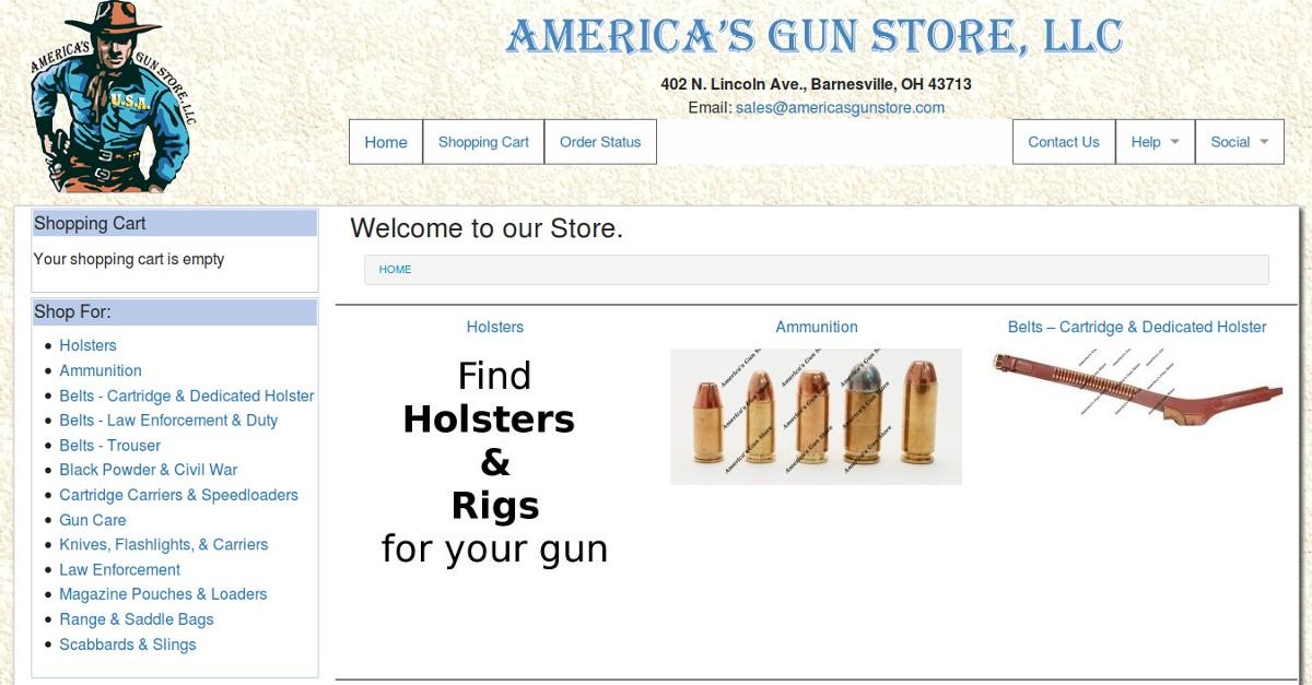 Holsters That Fit Your Gun | America's Gun Store, LLC