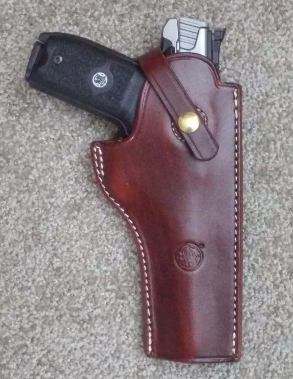 Triple K #754 – Sight Channel Holster for Gun Group 103 guns (Ruger