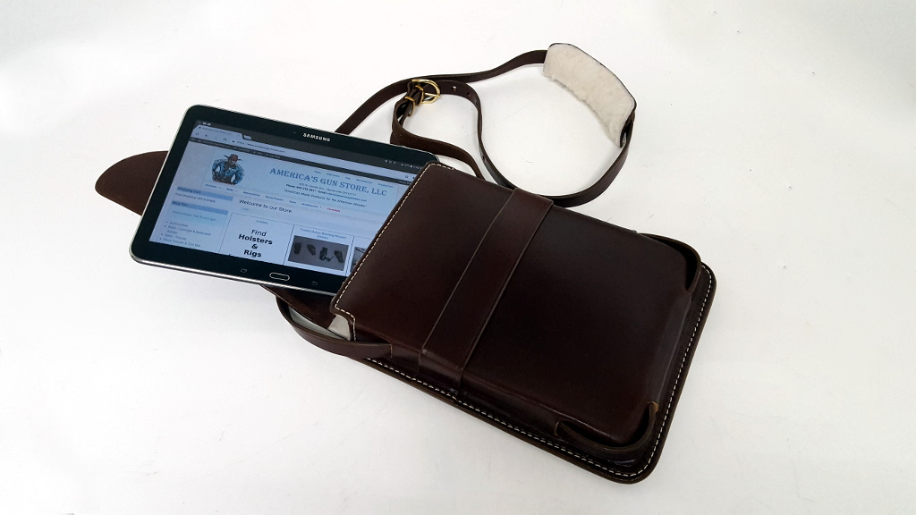 Tablet Holder with Shoulder Strap