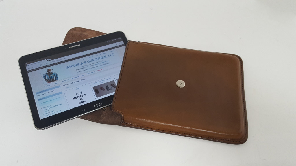 Tablet Holder with Carrying Handle